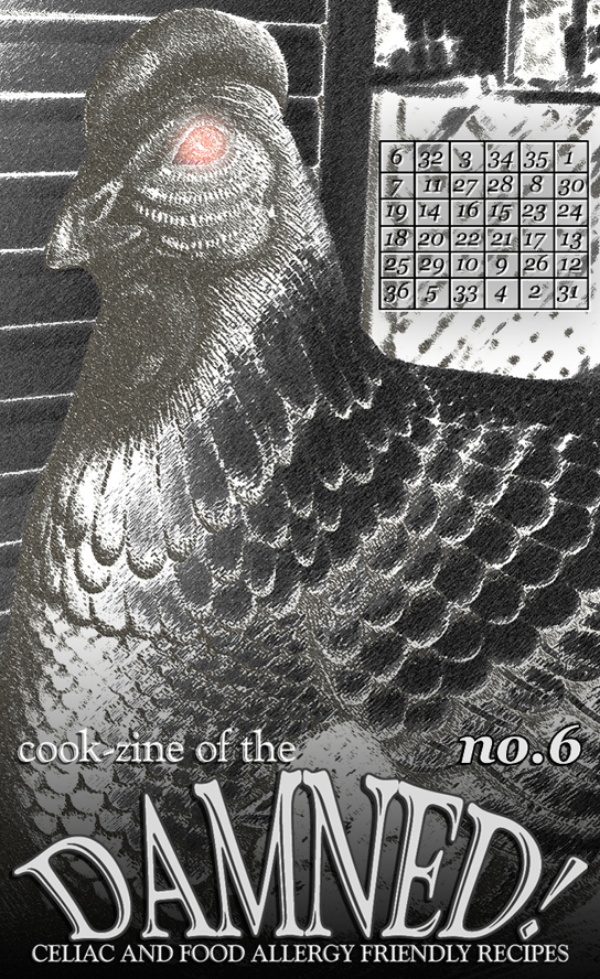 Cook-zine of the Damned Issue 06 cover image