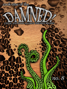 Cook-zine of the Damned Issue 08 cover image