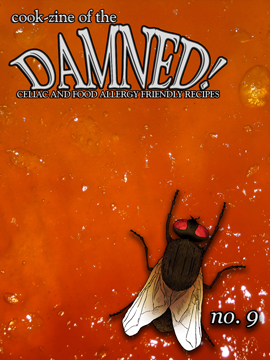 Cook-zine of the Damned Issue 09 cover image