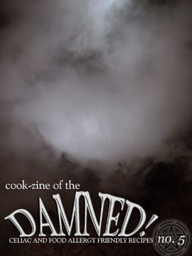 Cook-zine of the Damned Issue 05 cover image